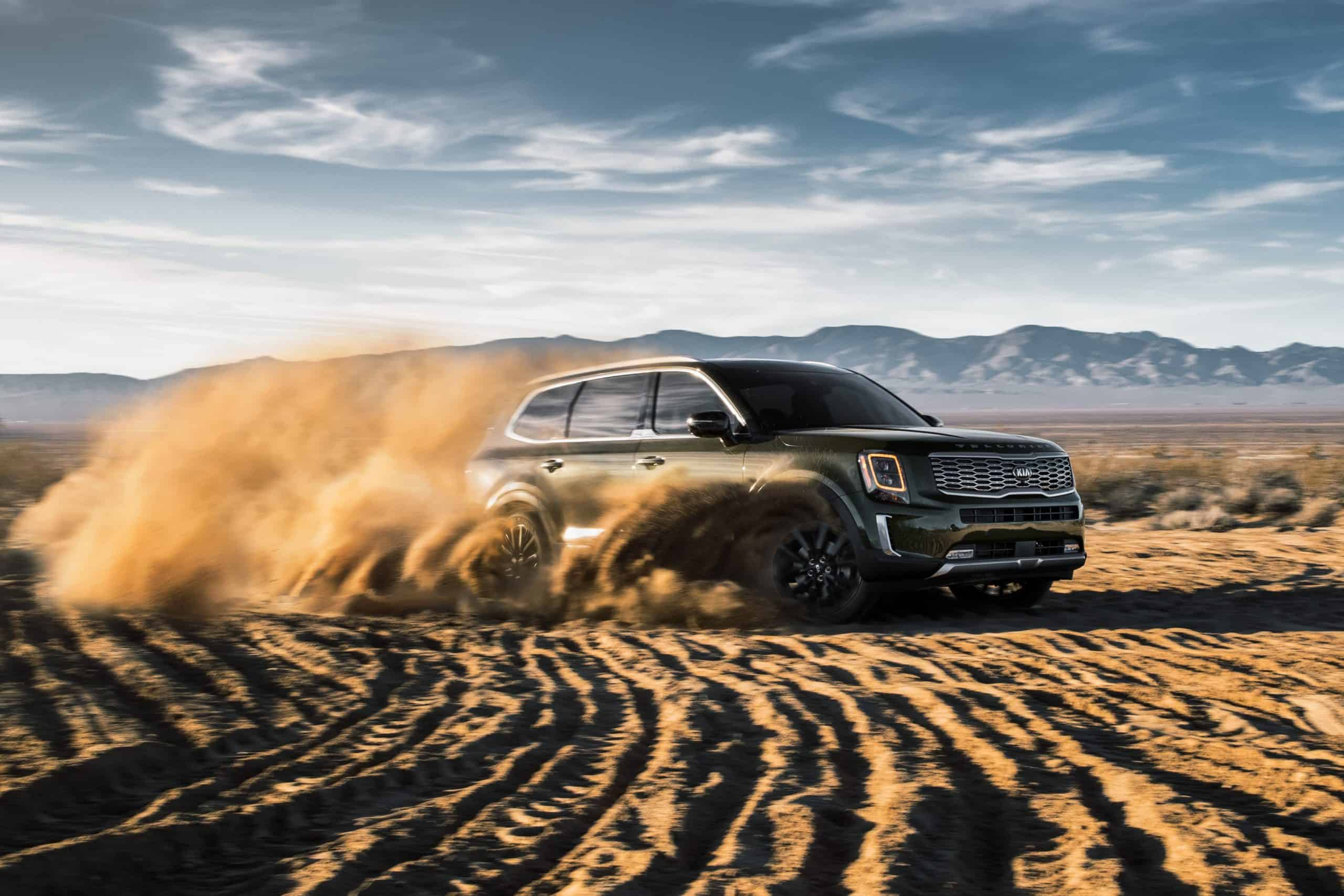 2020 Kia Telluride off road