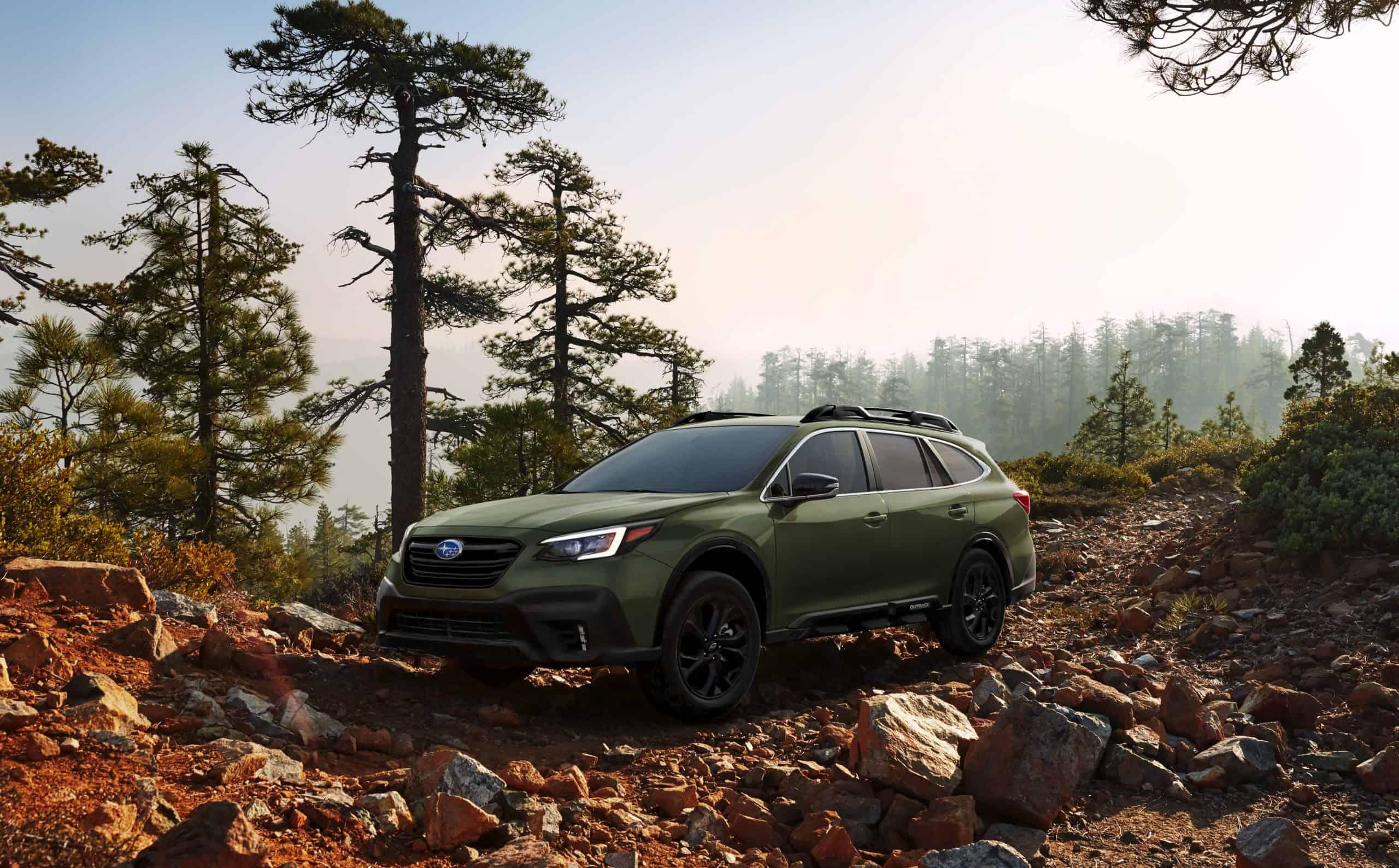 2020 Subaru Outback awd capability