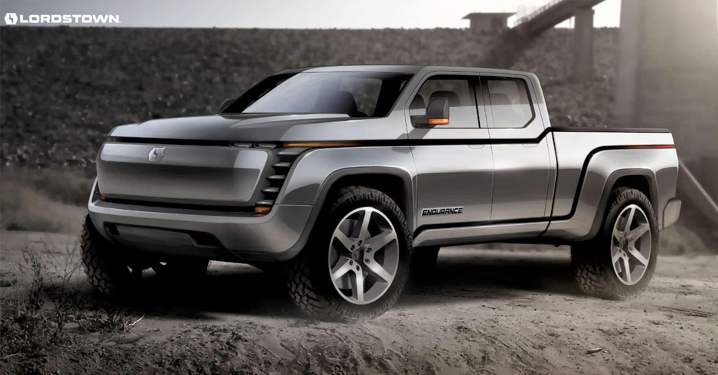 Lordstown Motors Endurance pickup rendering