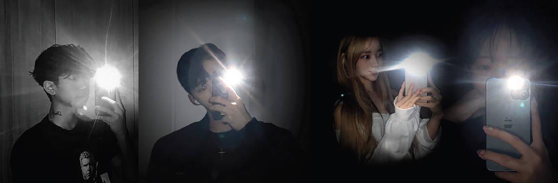 BTS dark selfie challenge