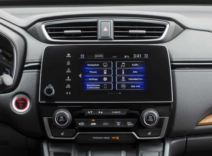 Honda Touchscreen