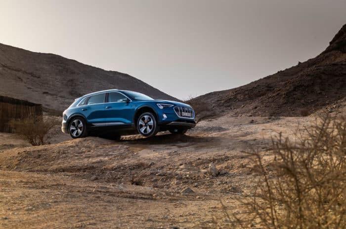 Audi e-Tron off-road electric vehicle