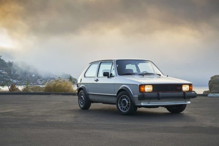 1984 Volkswagen Rabbit GTI MK1 the original hot hatch