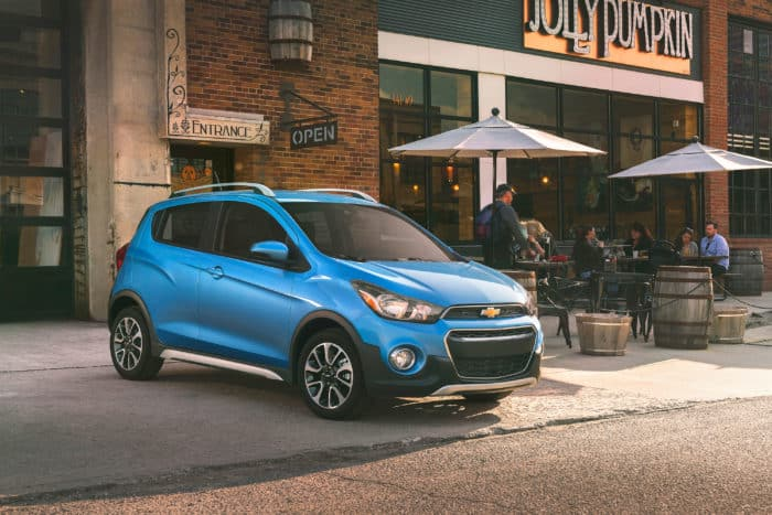 2020 cars with manual transmissions Chevrolet Spark