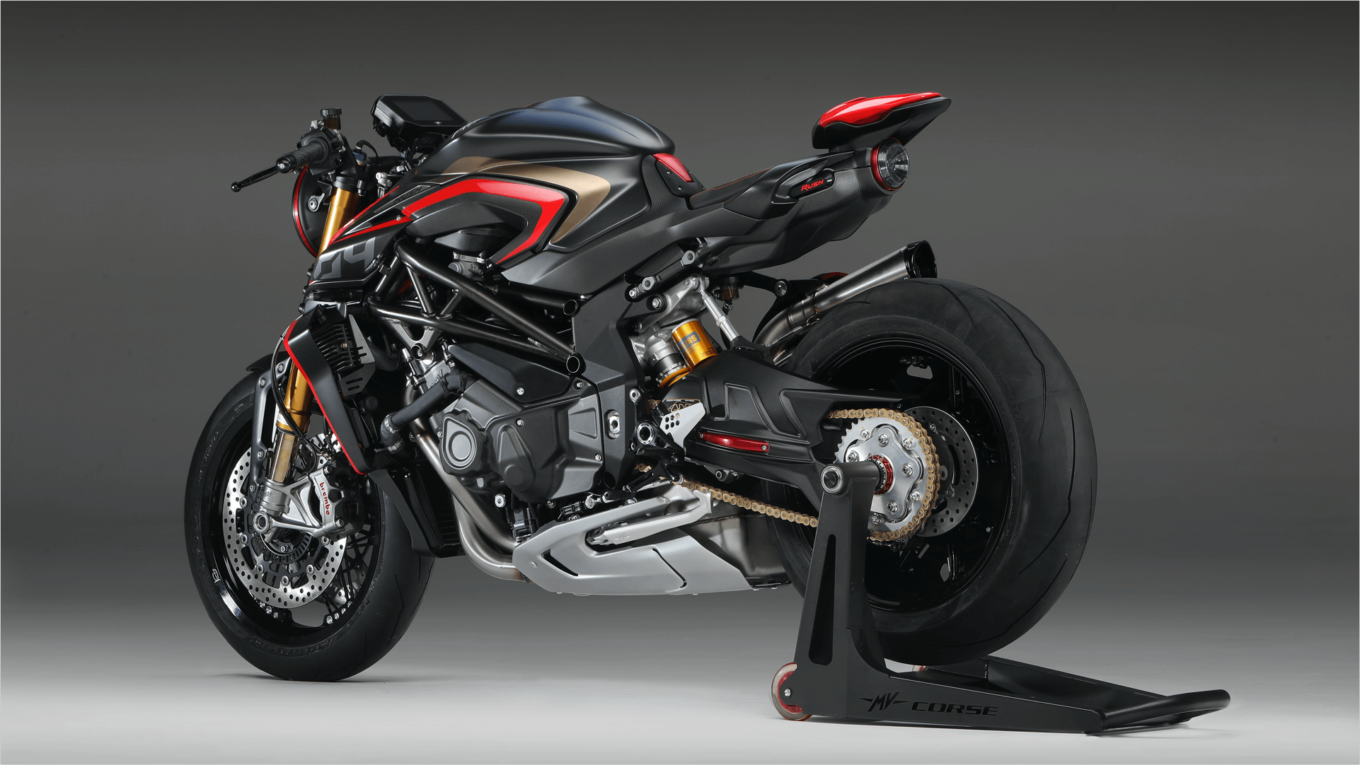 2020 MV Agusta Rush 1000 Rear View