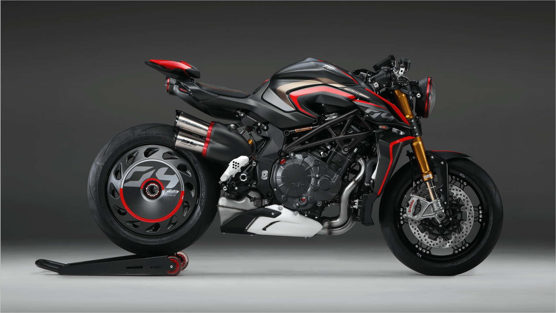 2020 MV Agusta Rush 1000 Side View 2
