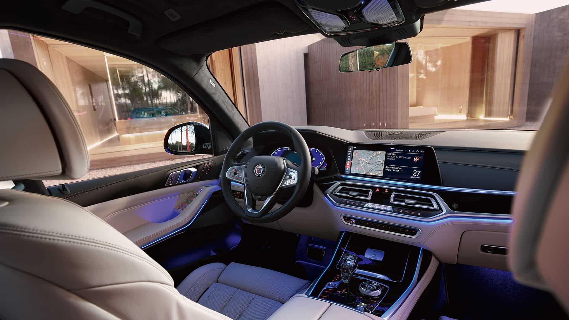Alpina XB7 Interior