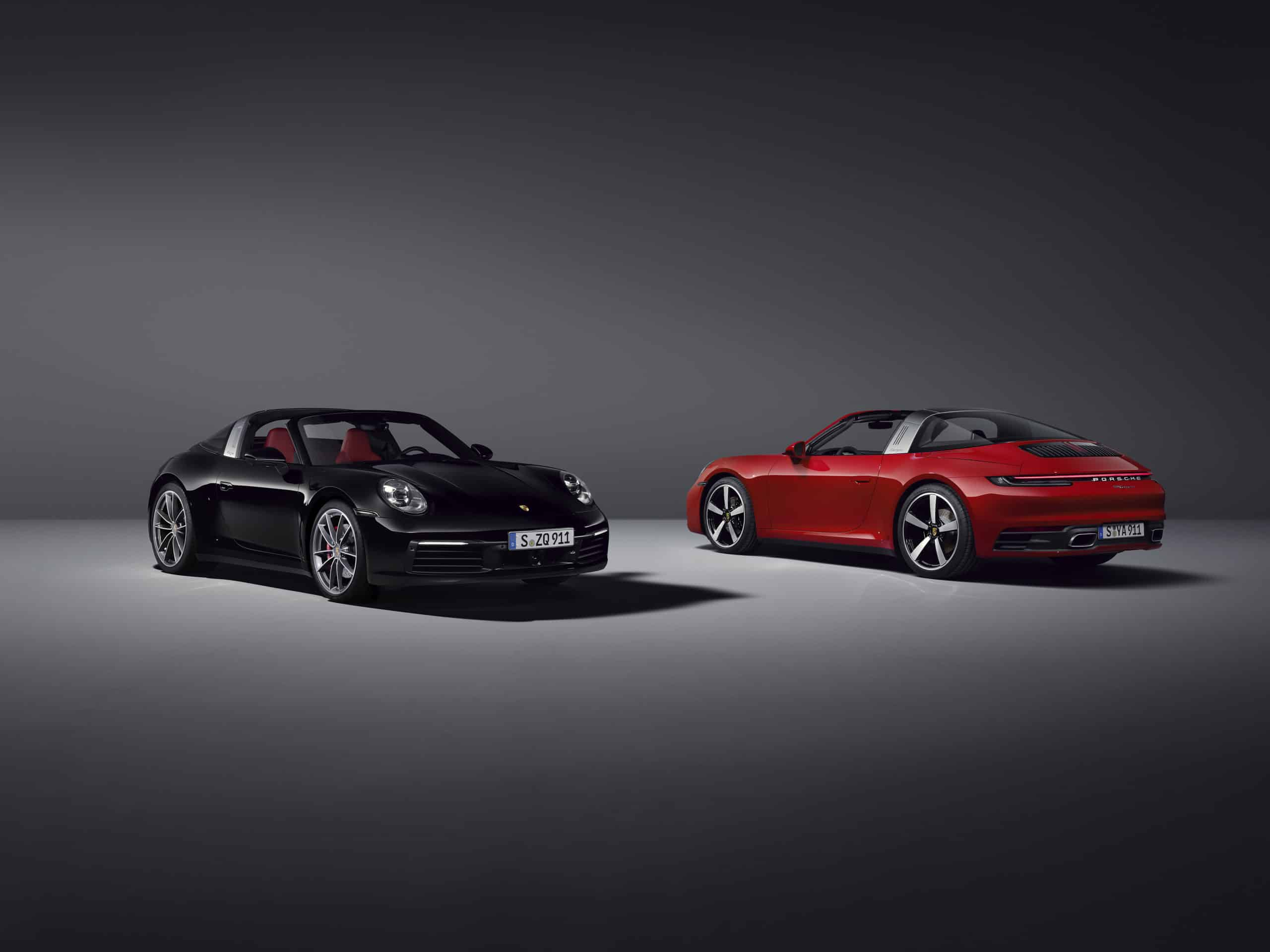 2021 Porsche Targa 4S and 4