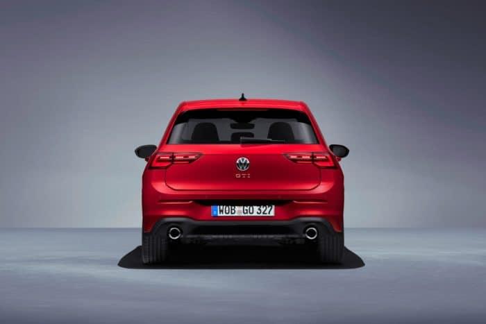 2022 VW GTI Mk8 back end