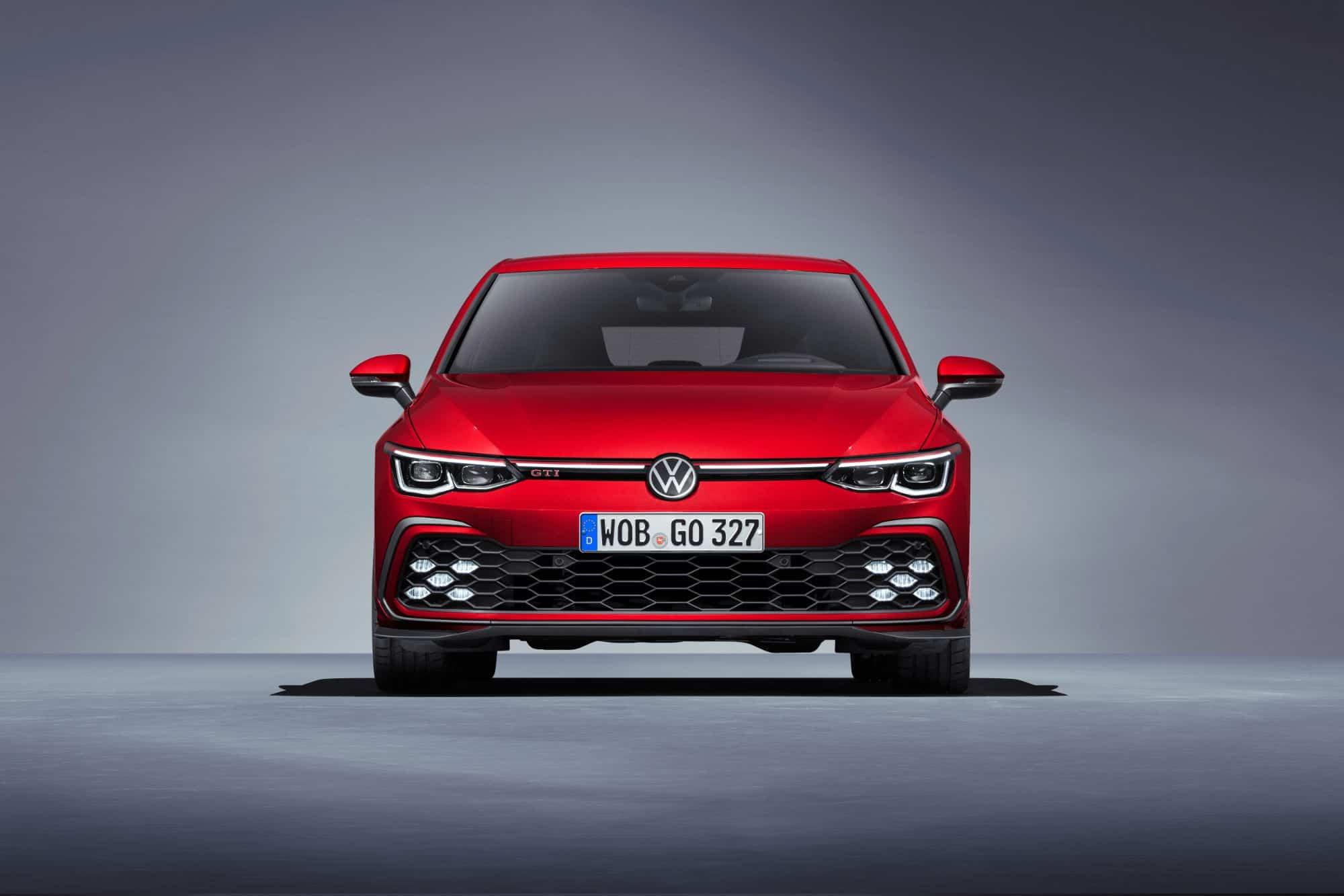 VW GTI Mk8 front view