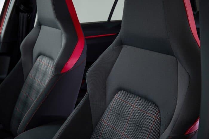 2022 VW GTI Mk8 seats