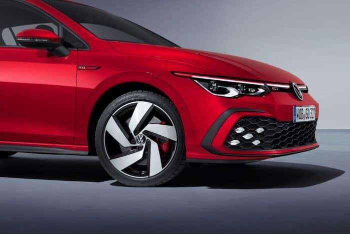 2022 VW GTI Mk8 wheel