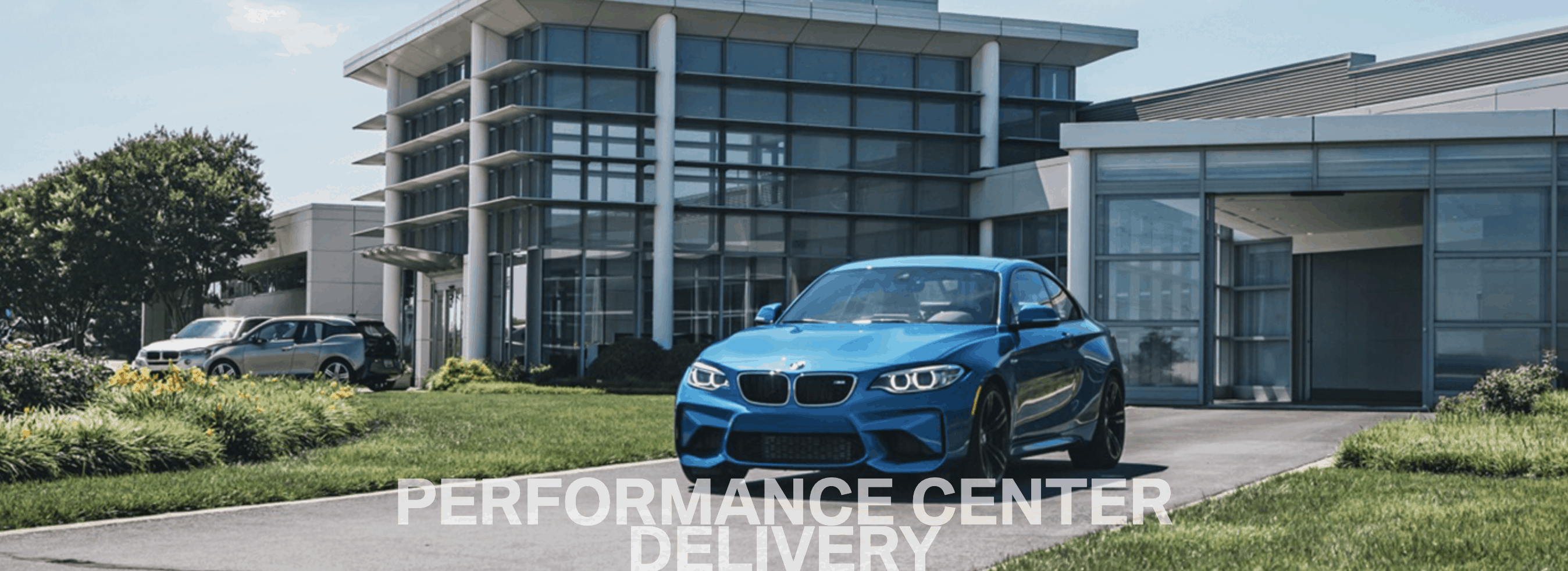 bmw performance center delivery