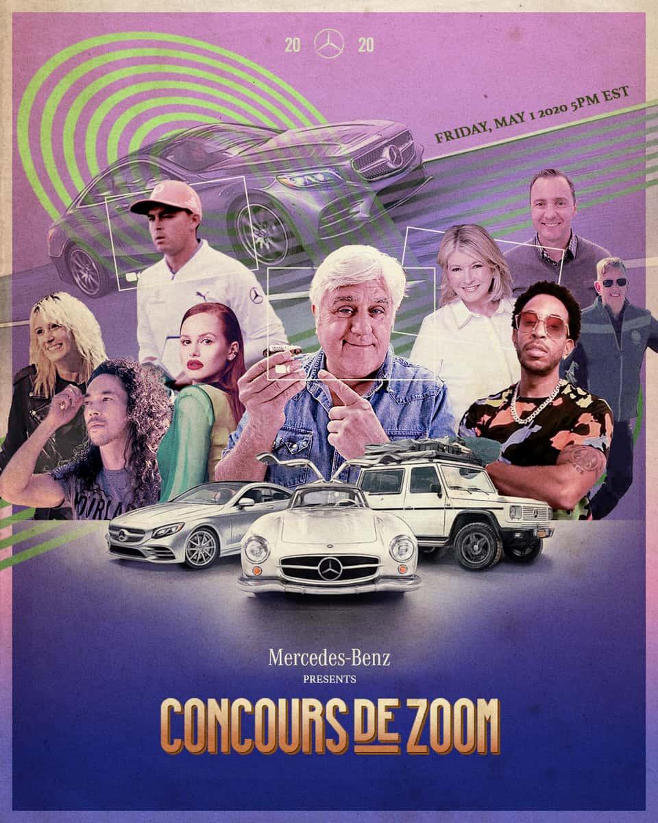 Mercedes Concours De Zoom Poster