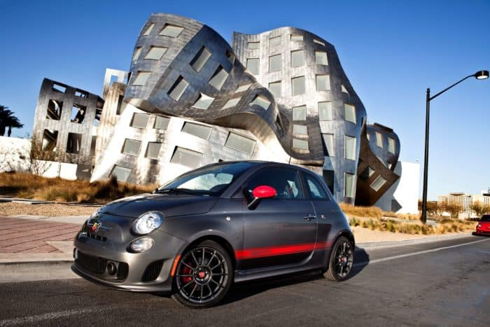 Fiat 500 Abarth hatchback