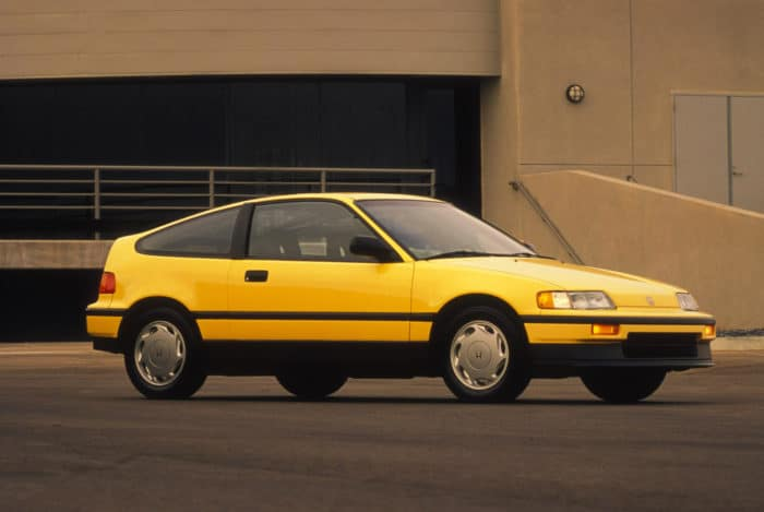 Honda CRX Si hot hatchback