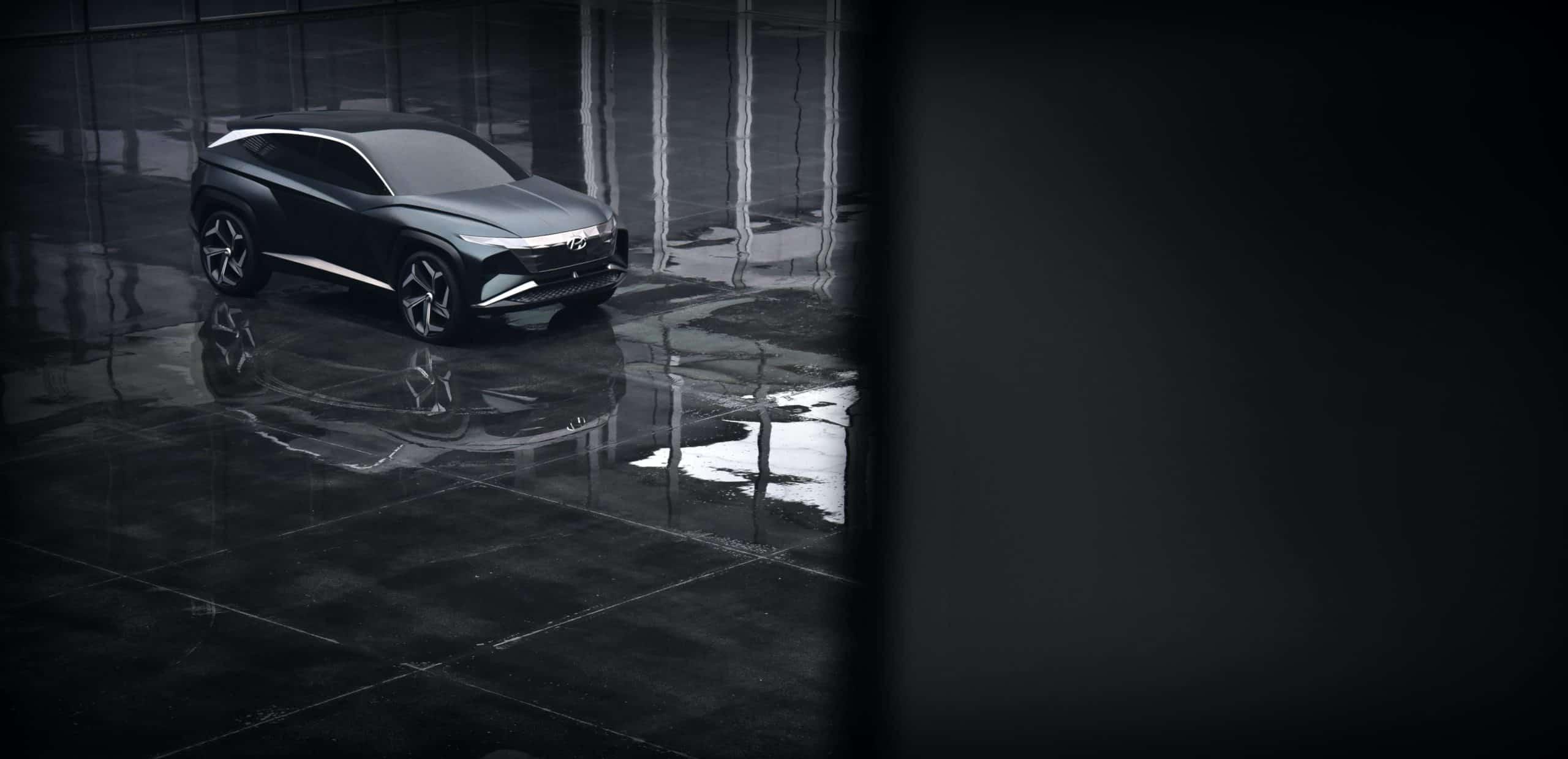 Hyundai Vision T Plug In Hybrid SUV Concept SUV