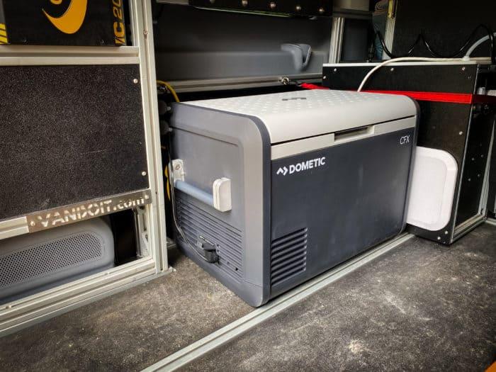 Dometic CFX3 55IM in VanDoIt camper van