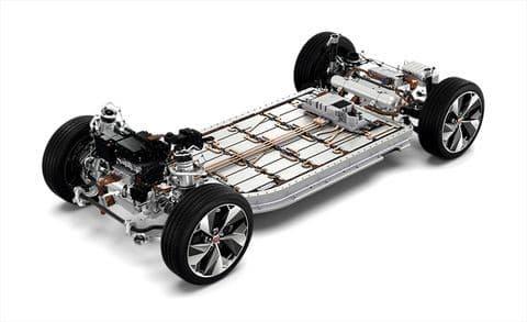 Jaguar i-Pace Skateboard Chassis