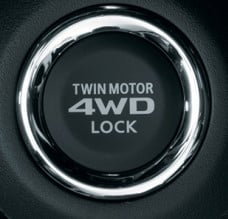 Mitsubishi S-AWC Motor Lock Button
