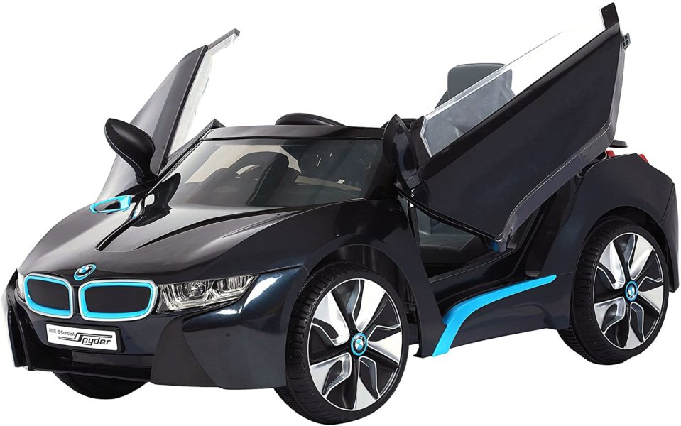 rollplay bmw i8 electric kids car