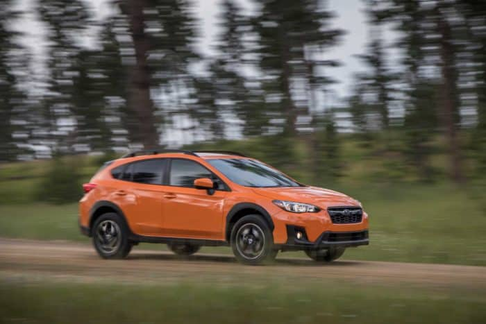 awd manual Subaru Crosstrek