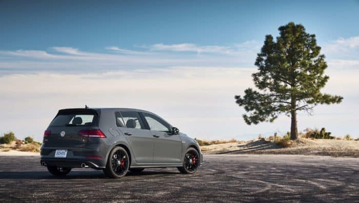 2019 Volkswagen Golf GTI hot hatch
