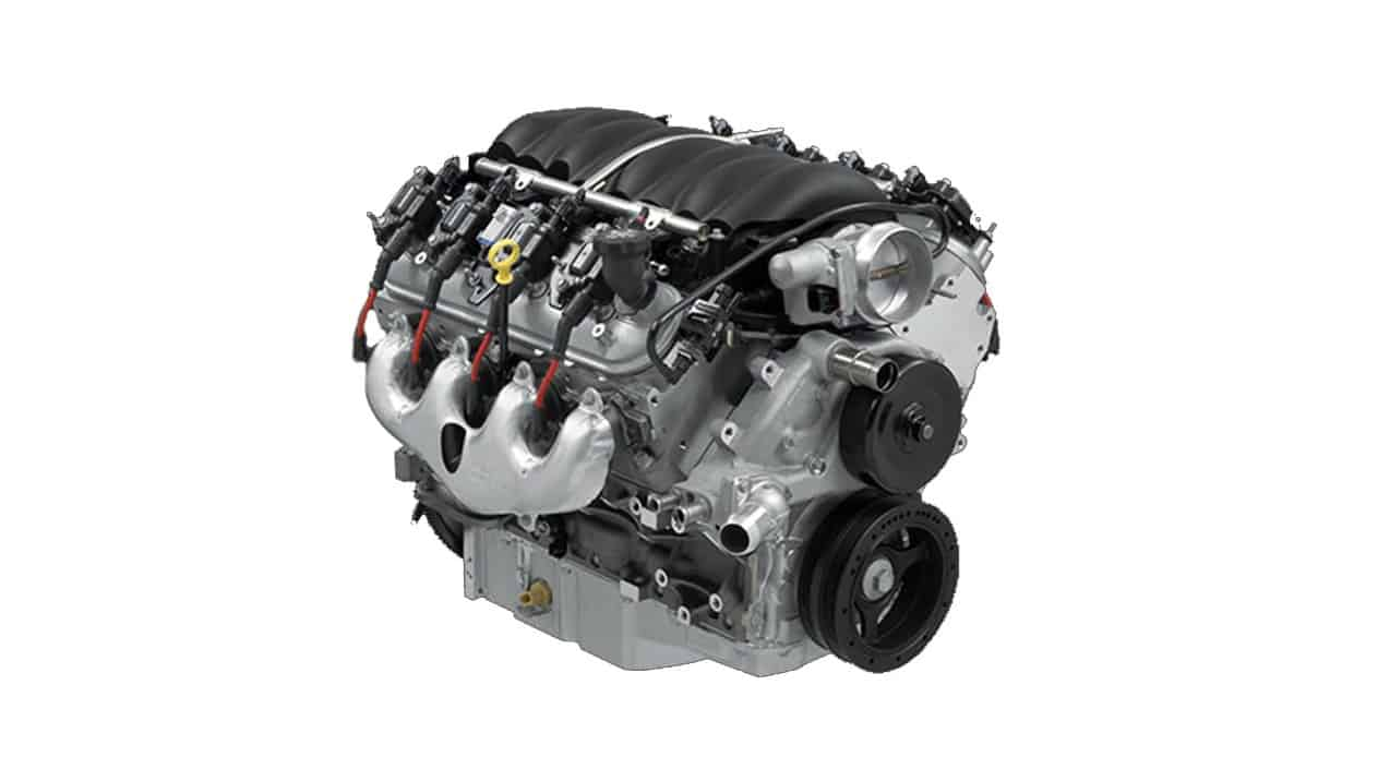 GM 6.2 liter crate engine