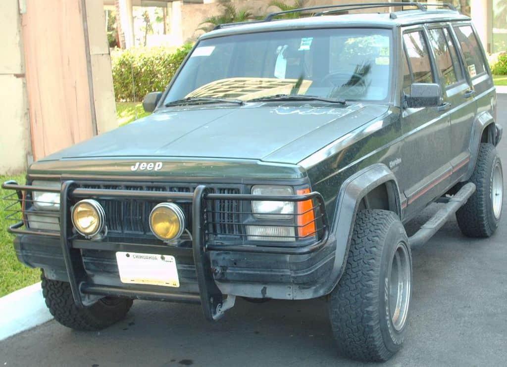jeep cherokee xj collectible suv