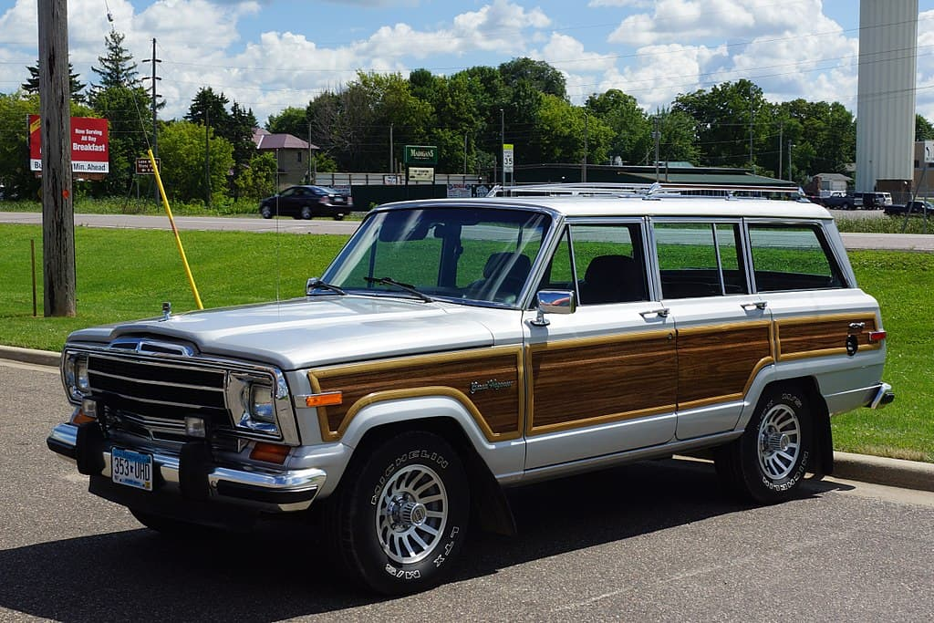 1990 jeep grand wagoneer vintage collectible suv
