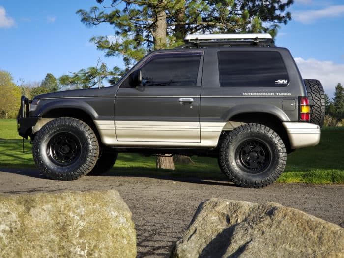 1991 Mitsubishi Pajero customized
