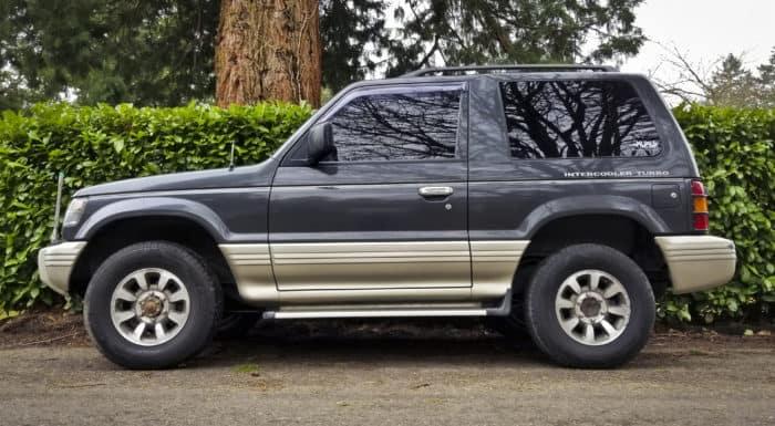 1991 Mitsubishi Pajero stock