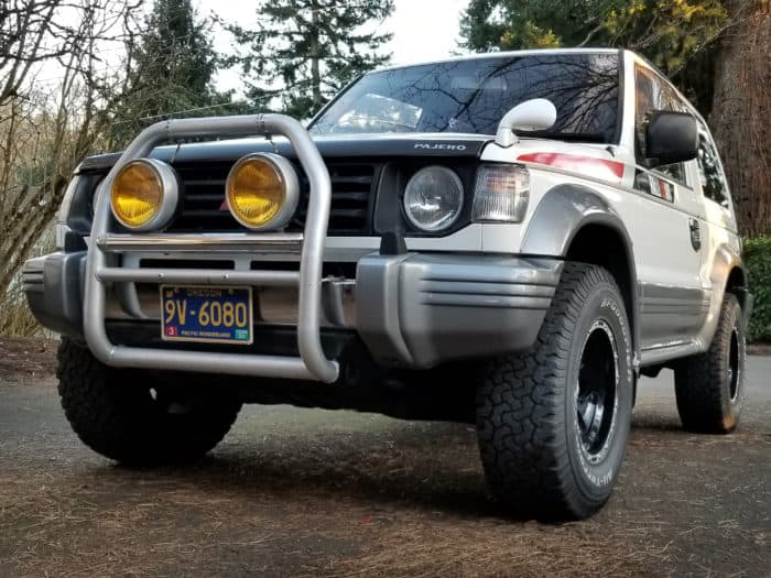 1992 Mitsubishi Pajero stock right hand drive cars in the usa