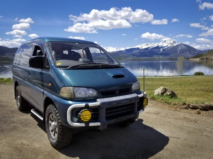 1994 Mitsubishi Delica Space Gear right hand drive cars in the usa