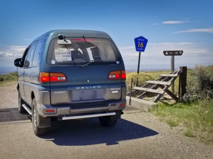 1994 Mitsubishi Delica Space Gear rear