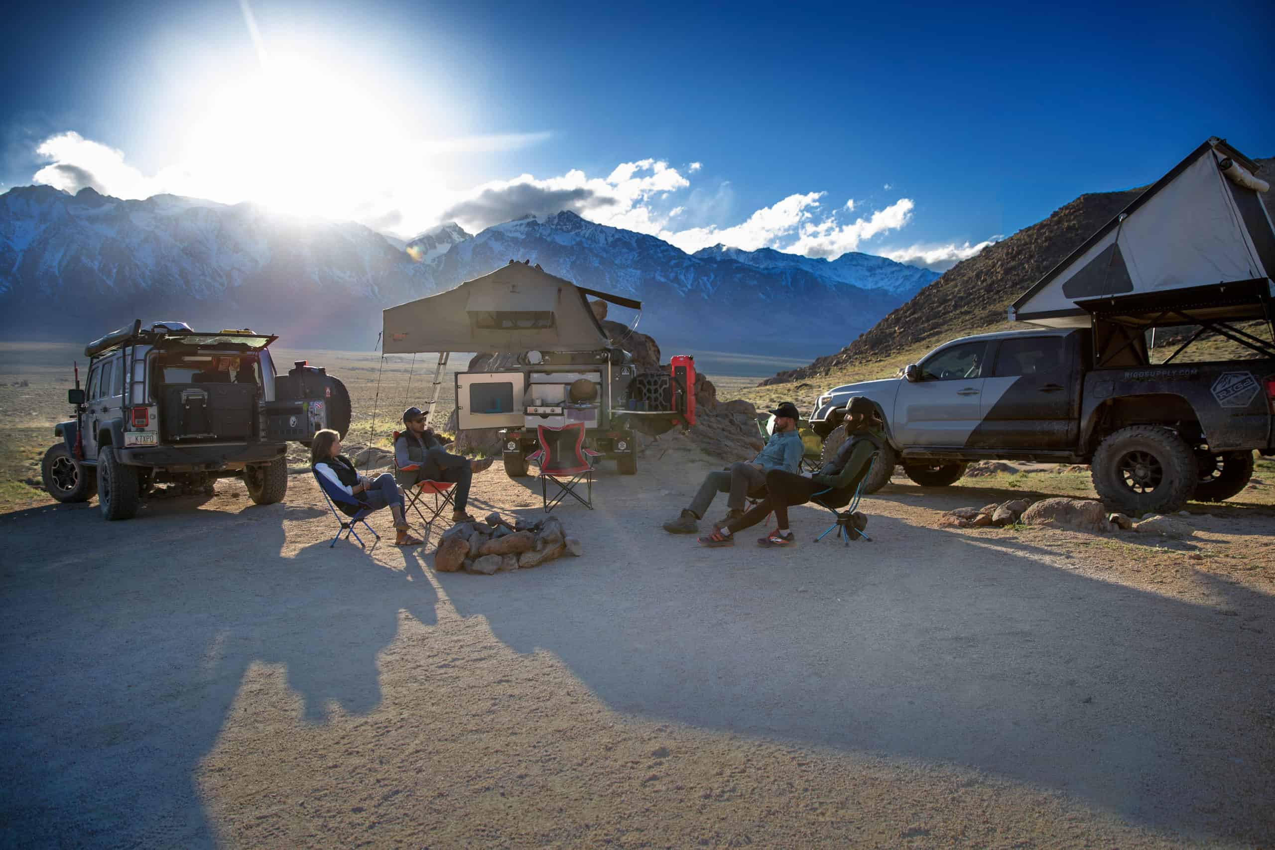 Finding the best campsite with Garmin GPS