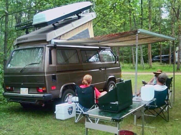 VW Syncro best 4x4 camper vans