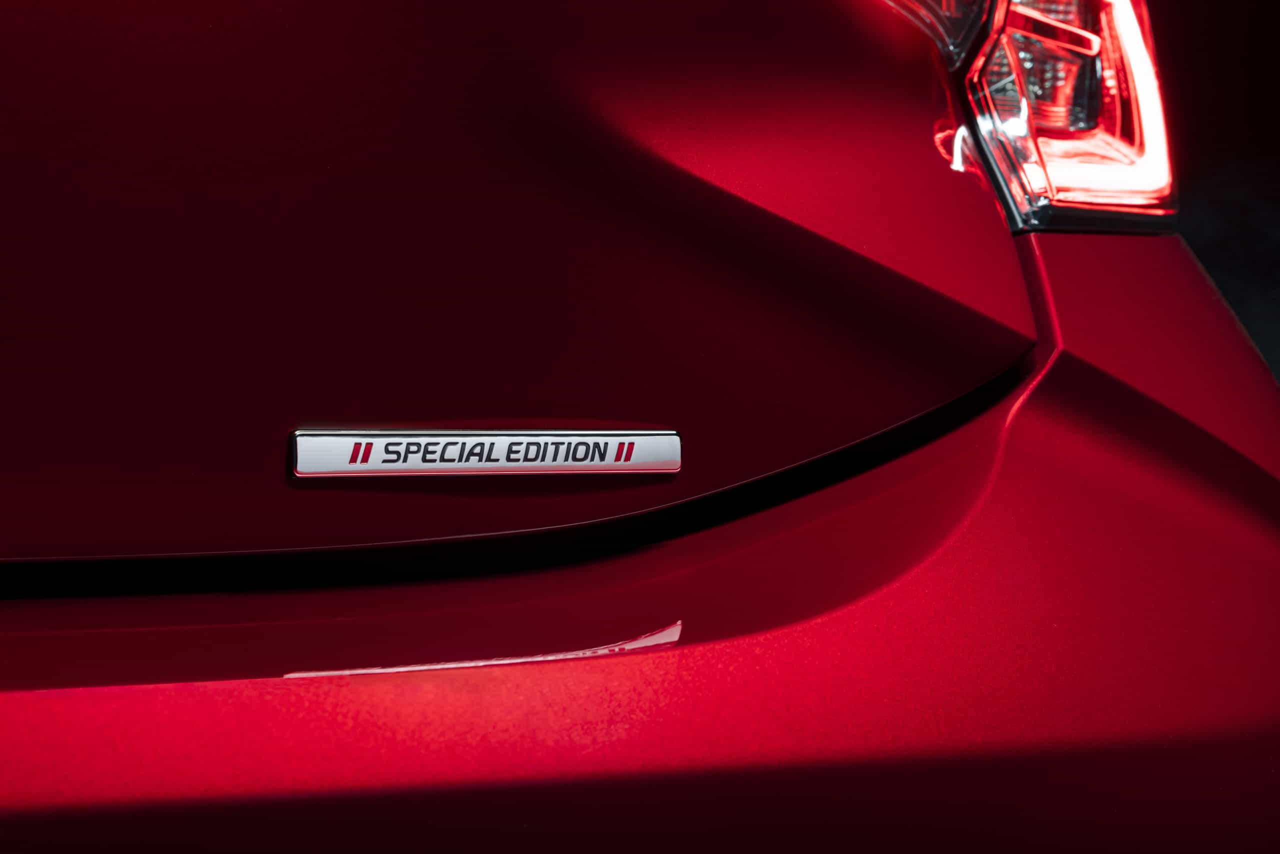 Corolla Hatchback Special Edition badge