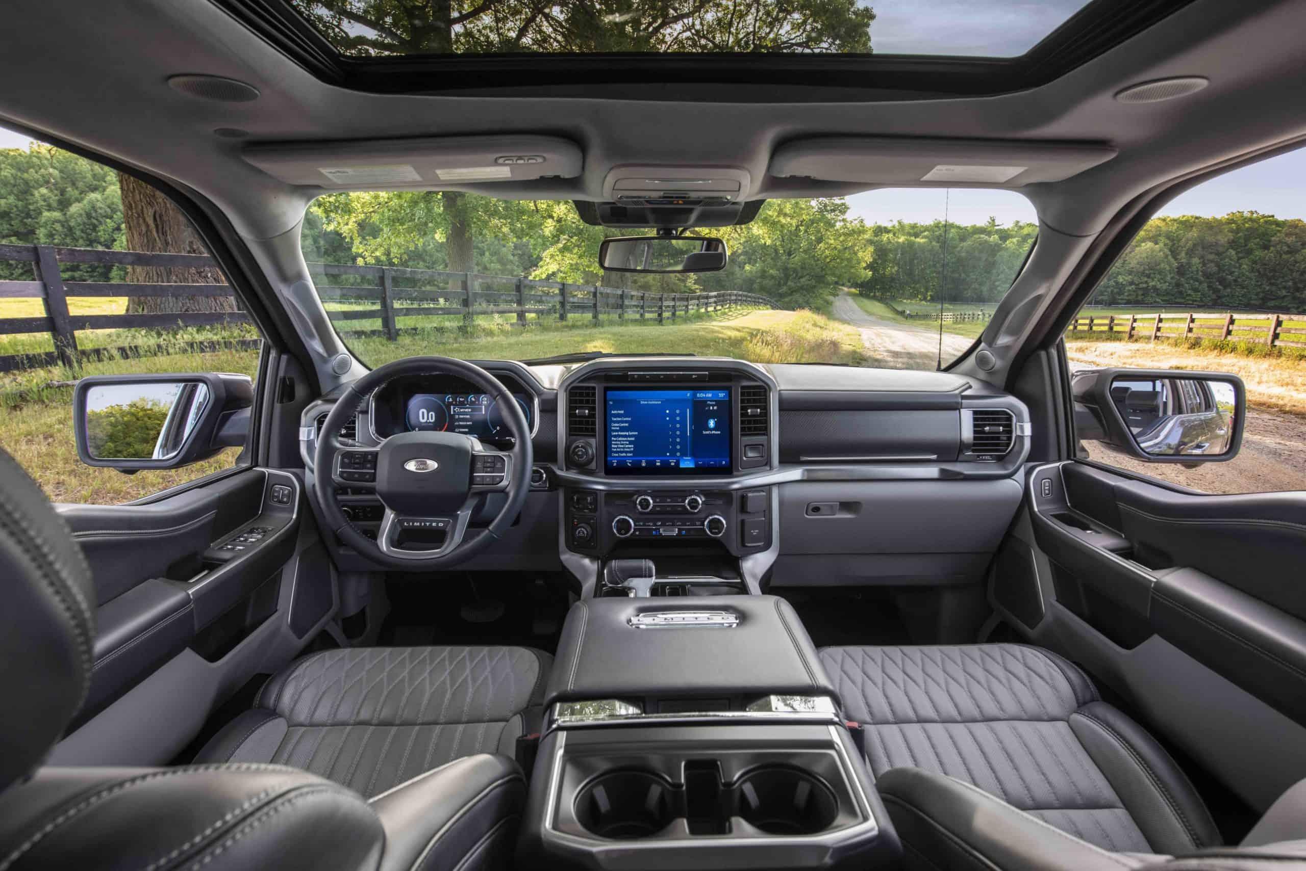 2021 F-150 Interior