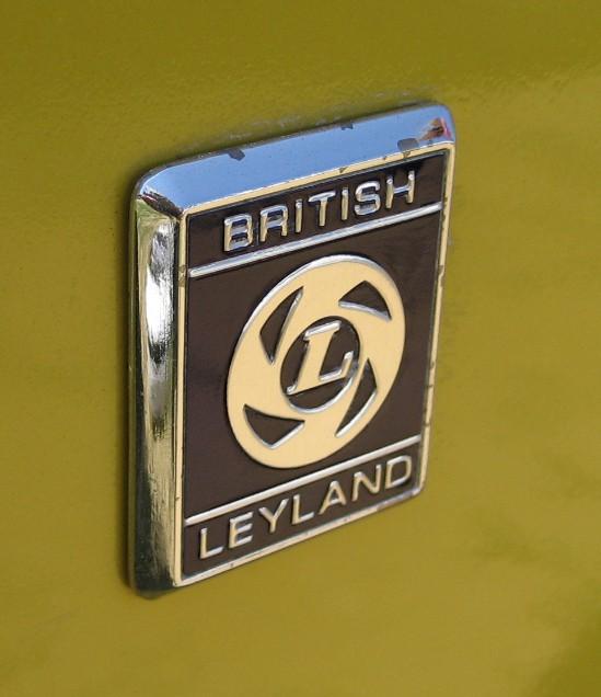 british leyland car badge
