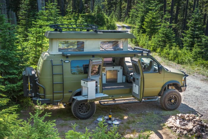 Sportsmobile classic 4x4 camper van
