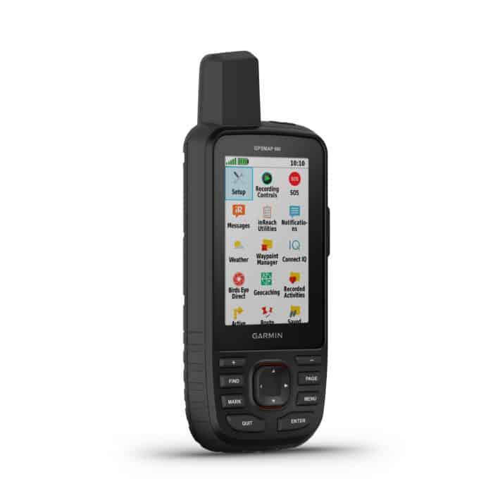 Garmin GPSMAP 66i home screen