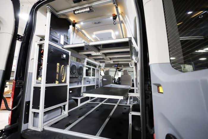 Van Do It van interior