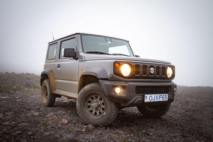 Suzuki Jimny rental in Iceland