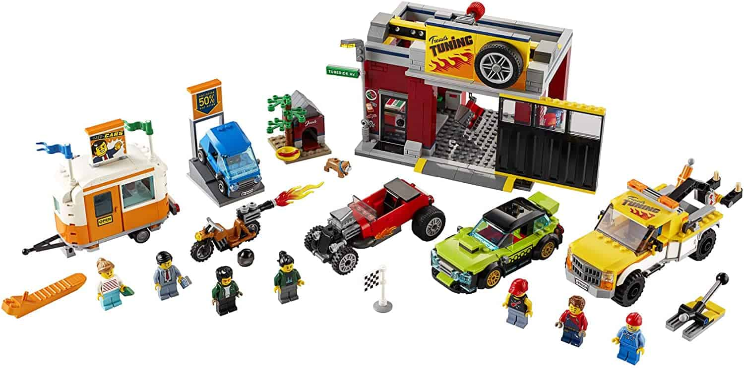 LEGO City Tuning Workshop Toy Car Garage set