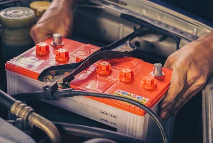 Lifting the Car Battery