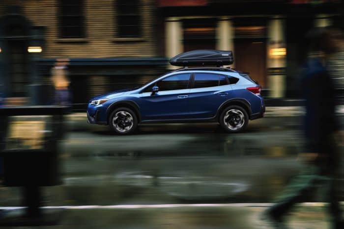2021 Subaru Crosstrek Limited parked