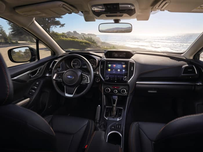 Subaru 2021 Crosstrek Limited's interior