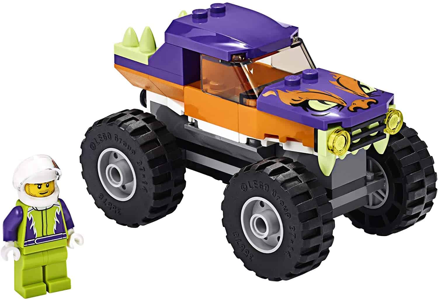LEGO City Monster Truck car lego set