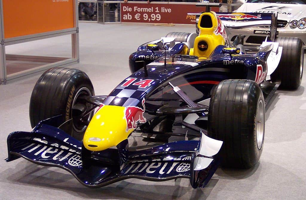 red bull racing f1 car 2006 british car industry